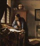 Vermeer, The Geographer
