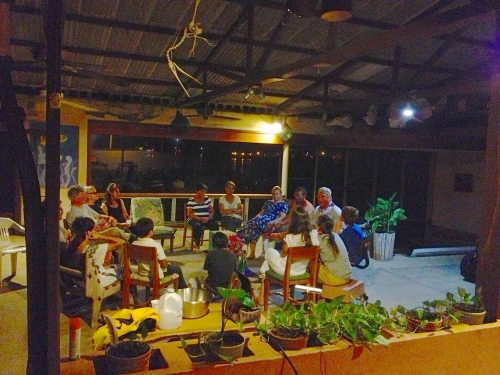 "Evening of Dances and talk at ""The Old Hotel"" next to Darwin Institute..."