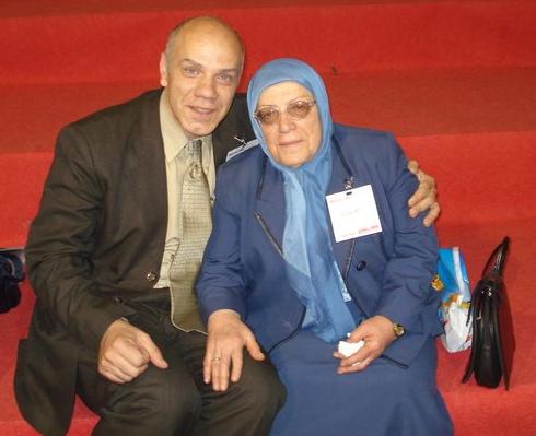 Bayan and his mom