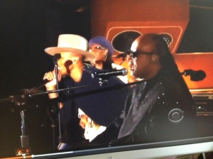 "Pharrell +Stevie ""Get Lucky"""