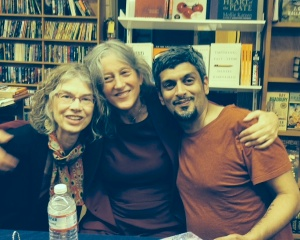 Brenda Hillman, Annie Finch, and Kazim Ali: three of my favorite poets!