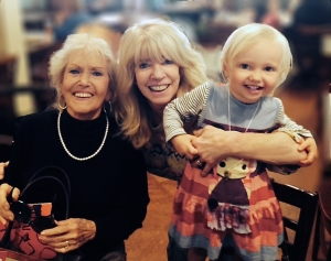 Grandma, Isa and Maeve, 2014