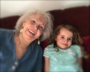 Oona and Grandma, 2015